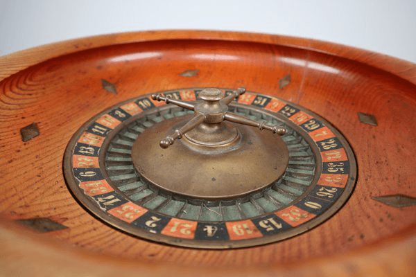 Roulette Wheel Old Photo